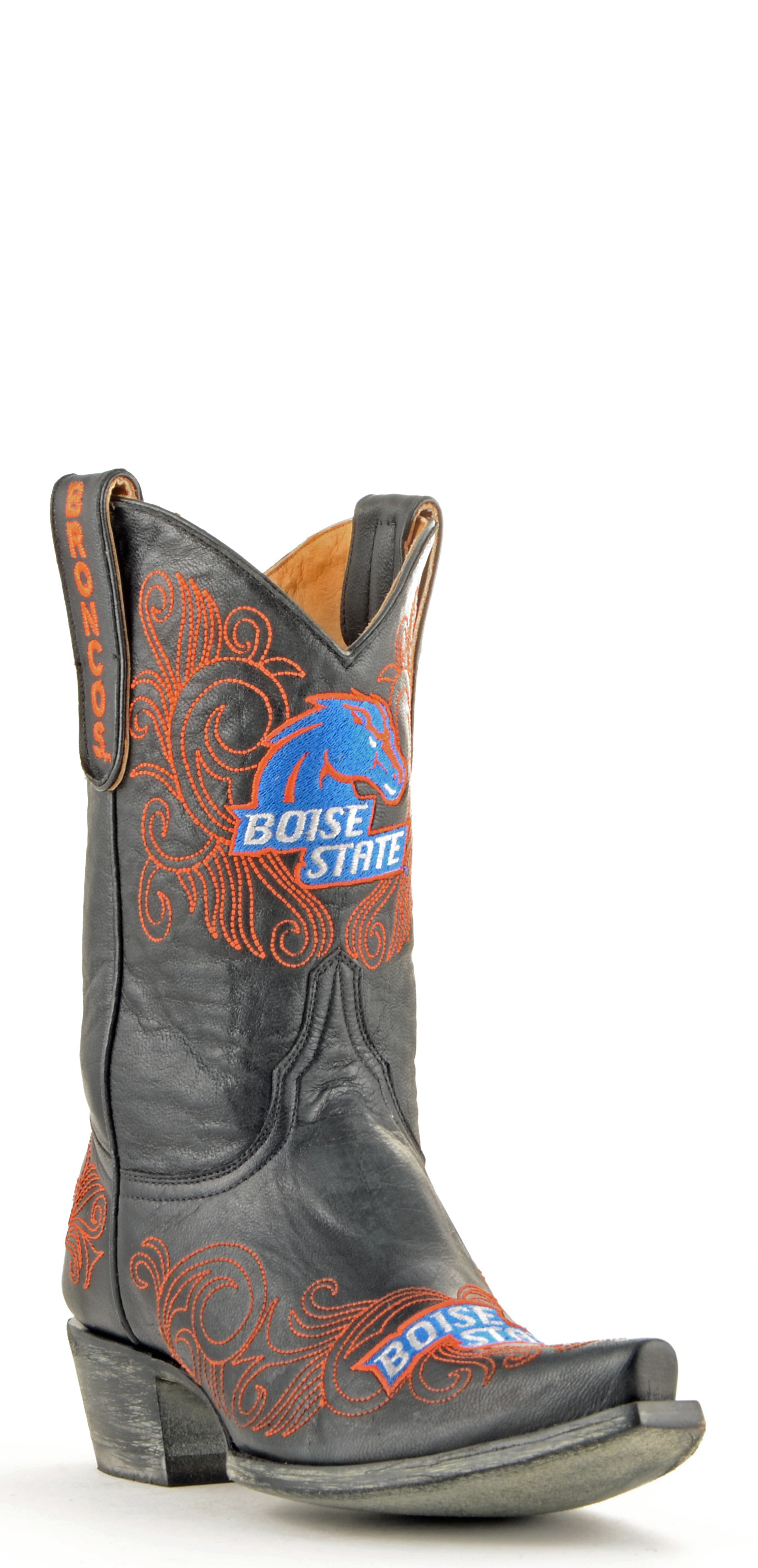 """Gameday Boots Women's 10"""" Short Leather Boise State Cowboy Boots by GameDay Boots"""