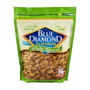 Blue Diamond Natural Whole Almonds, 25 Oz