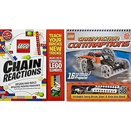 Lego Crazy Contraptions + Lego Chain Reactions