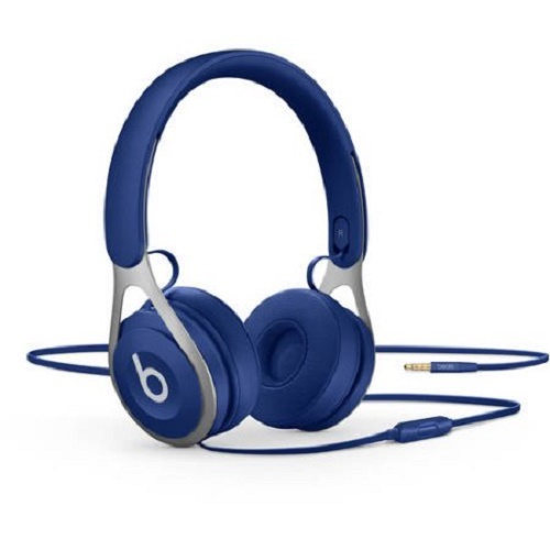 Refurbished Apple Beats EP Blue Wired On Ear Headphones ML9D2LL/A