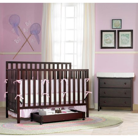 Graco Katelyn 4-in-1 Nursery Furniture Set Espresso