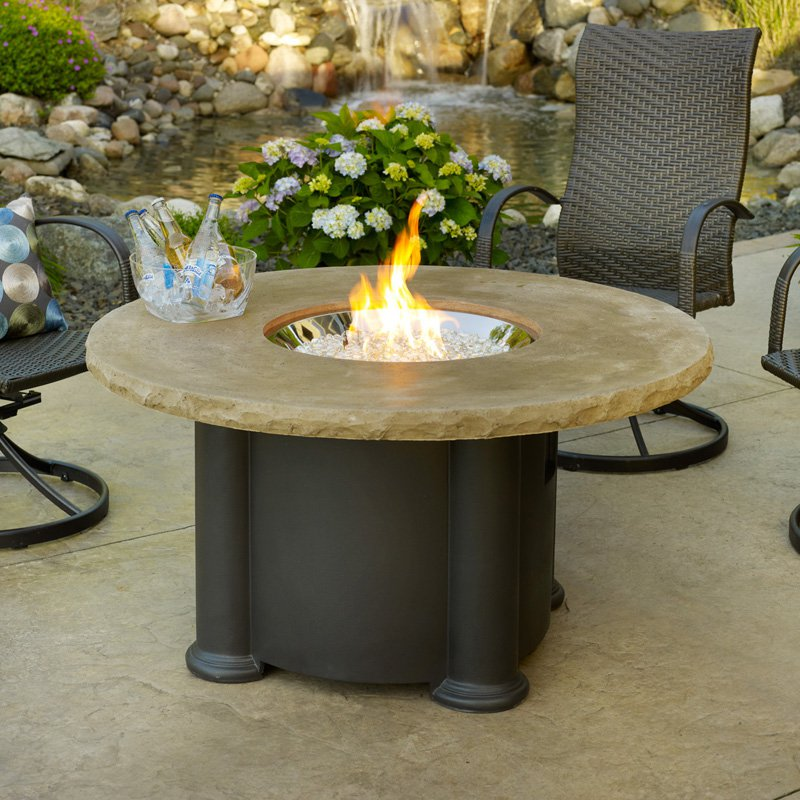 Outdoor GreatRoom 48 in. Colonial Firepit Table by The Outdoor GreatRoom Co