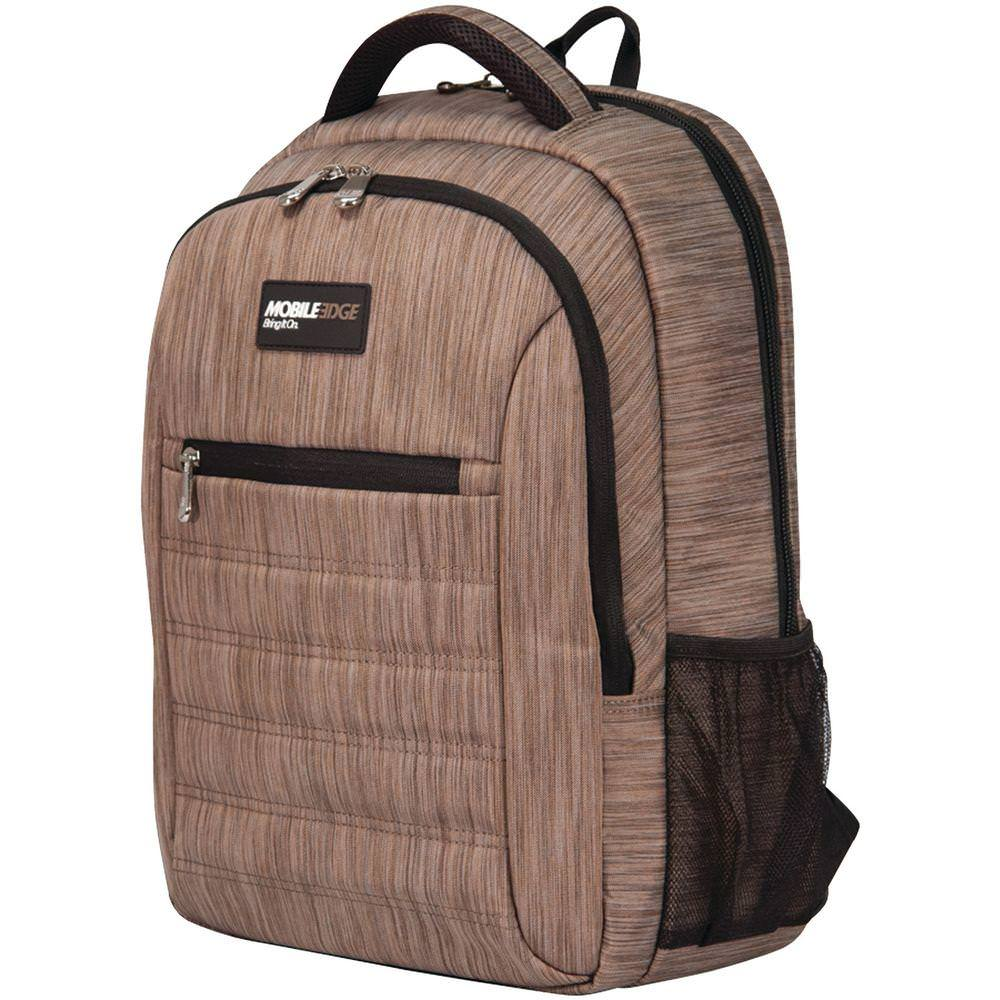 "Mobile Edge SmartPack 15.6"" Laptop/Tablet Backpack - Wheat"