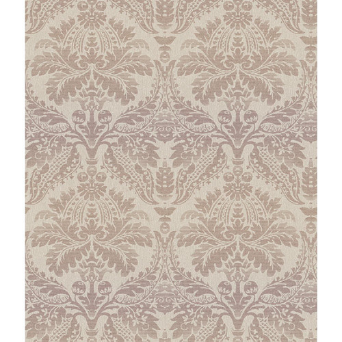 York Wallcoverings Impressions Linear 33' x 20.5'' Damask 3D Embossed Wallpaper
