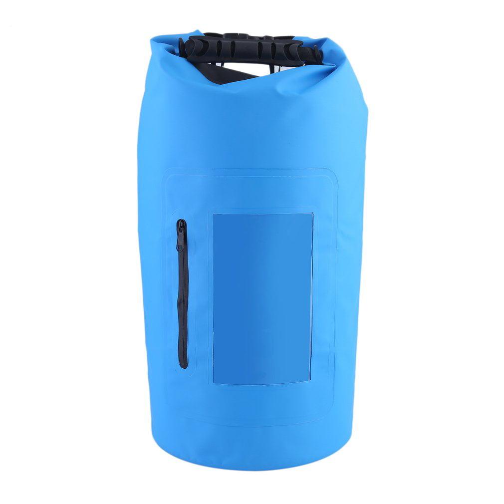 Waterproof Roll Top Duffel Bag With Grab Handle Dry Gear Bag Survival Sack Kit by ItsyourturnB