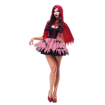 Women Red Riding Hood Costume Sexy Dress Cosplay Halloween Fancy Dress
