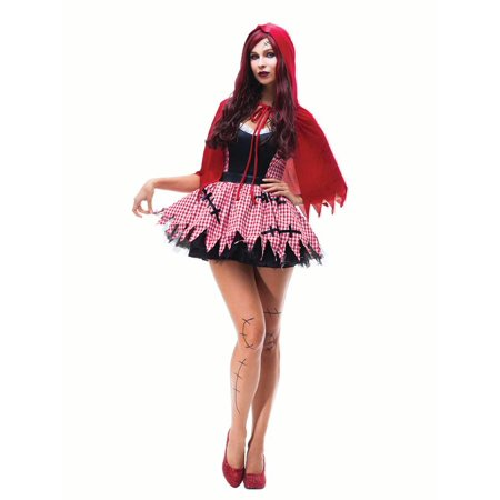 Women Red Riding Hood Costume Sexy Dress Cosplay Halloween Fancy Dress Outfit