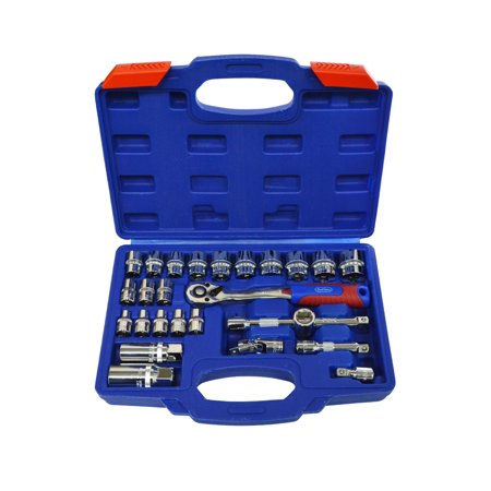 Best Value H0183014 3/8 in. Drive Socket with Carrying Case 27-Piece