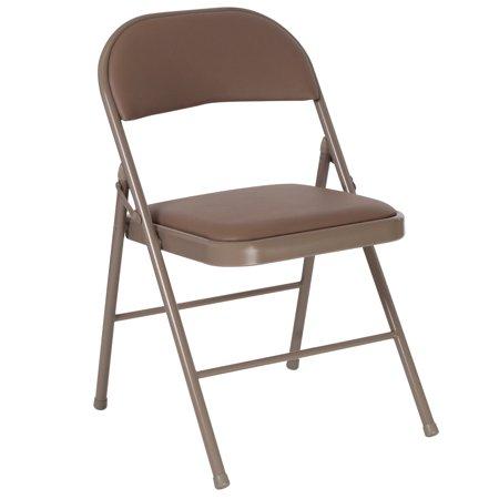 (HERCULES Series Double Braced Vinyl Folding Chair)
