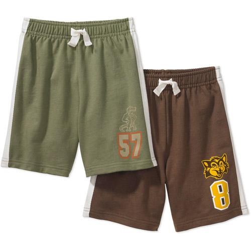 Garanimals - Baby Boys' Knit Shorts, 2-Pack