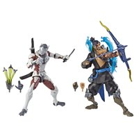Overwatch Ultimates Series Hanzo and Genji Dual Pack 6-Inch Figures