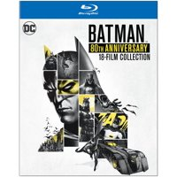 Deals on Batman: 80th Anniversary 18-Film Collection Blu-ray