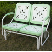 Retro Outdoor Glider, Multiple Colors