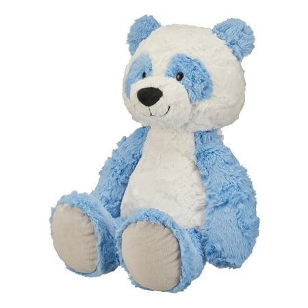 Kawaii Panda Plush (Spark. Create. Imagine. Large Plush Panda, Blue & White,)