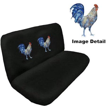 Bench Seat Cover   Universal Car Truck Suv   Rhinestone   American Chicken