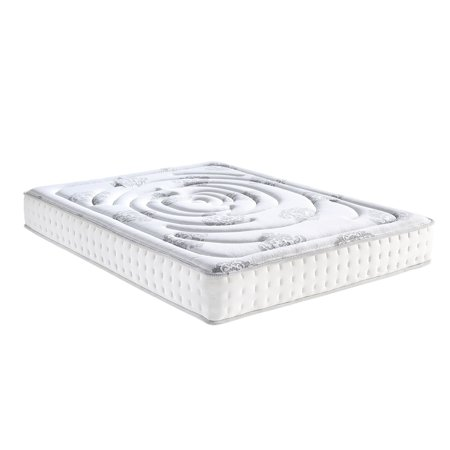 Classic Brands Decker 10.5 in. Firm Hybrid Memory Foam and Innerspring Mattress