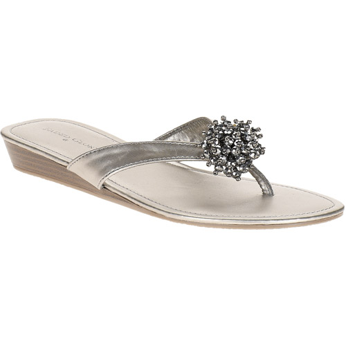 Faded Glory - Women's Ginny Floral Thong Sandals