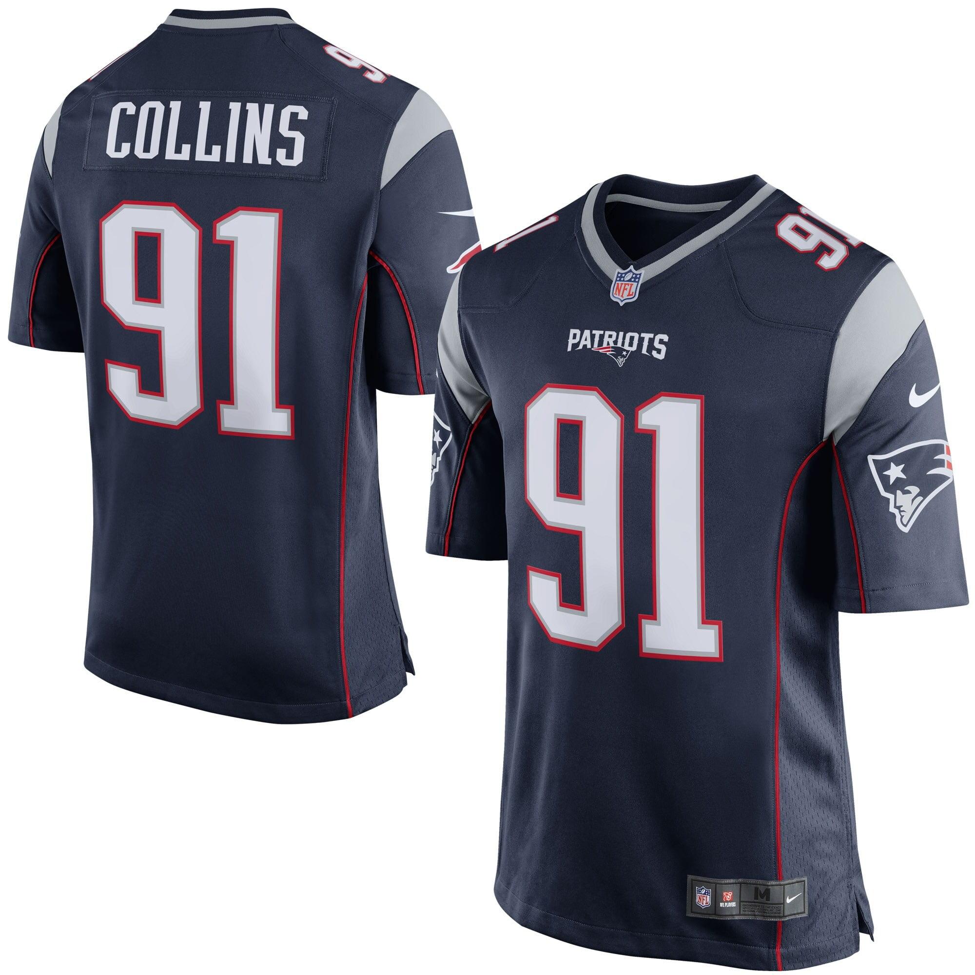 Jamie Collins New England Patriots Nike Game Jersey - Navy Blue - Walmart.com