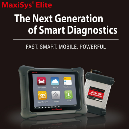 Autel Maxisys Elite  Upgraded Version Of Ms908p Pro  With Wifi Bluetooth Obd Full Diagnostic Scanner With J2534 Ecu Programming Extensive Vehicle Coverage
