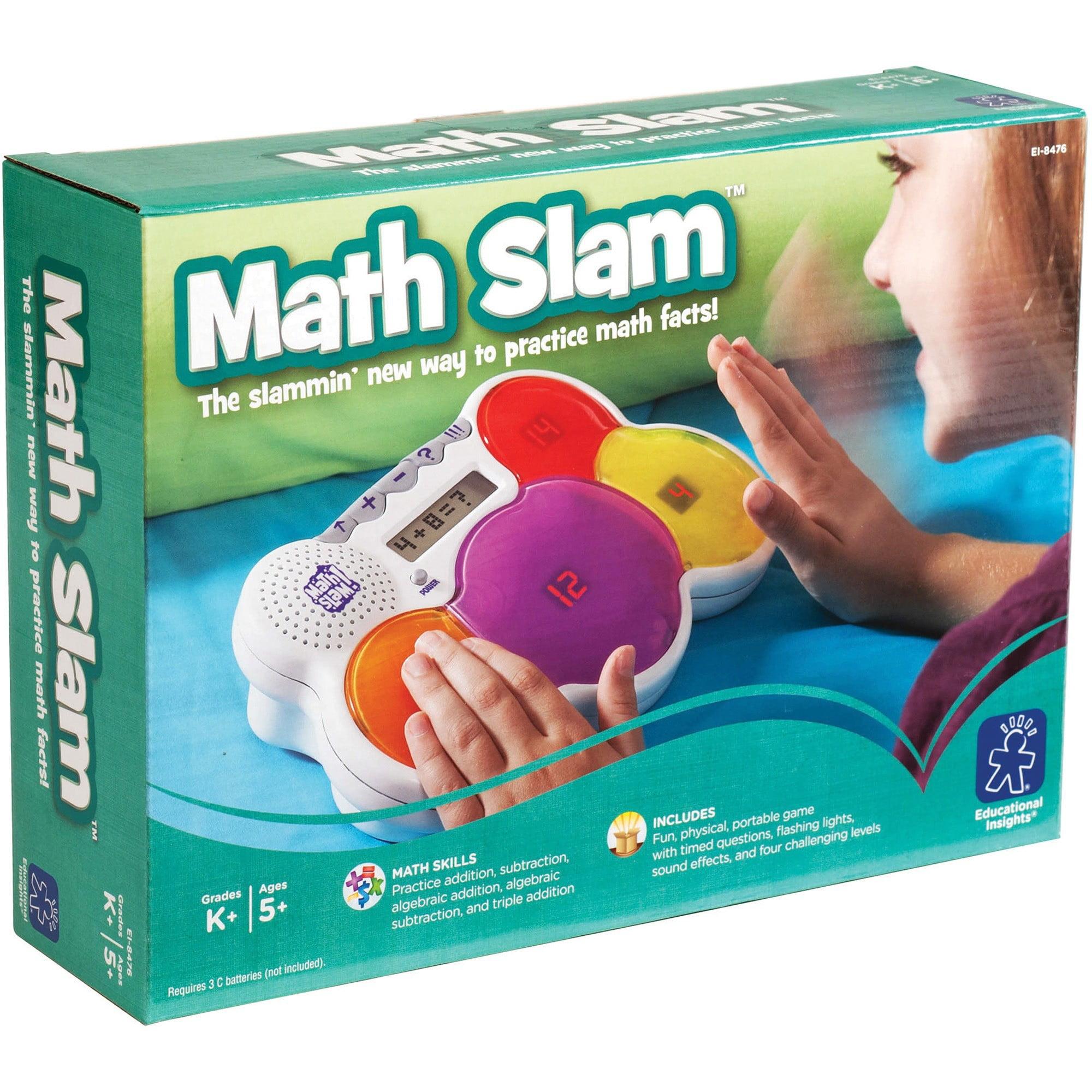 Educational Insights Math Slam - Walmart.com