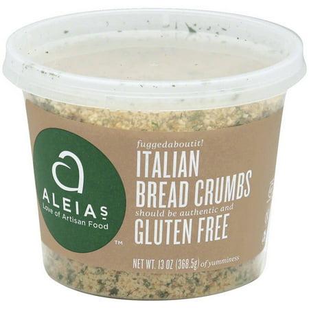 Image of Aleias Gluten Free Italian Bread Crumbs, 13 oz, (Pack of 12)