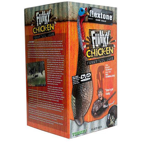 Evolved Flextone Funky Chicken Turkey Decoy