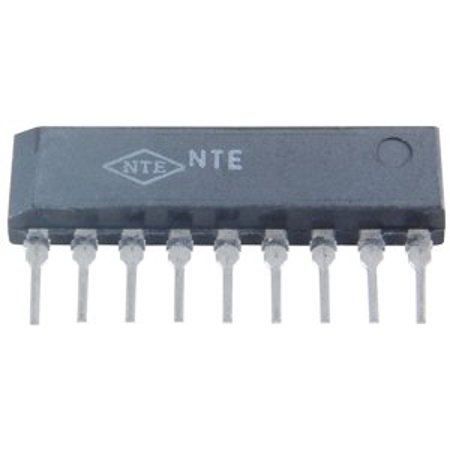 NTE Electronics NTE15040 Integrated Circuit TV Fixed Voltage Regulator, 5-Lead SIP Case, 1 Amp Output Current, 27W Power Dissipation, 120V Output Voltage -