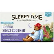 Celestial Seasonings Wellness Tea, Sleepytime Sinus Soother, 20 ea (Pack of 3)