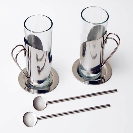 European Gift & Houseware Glass Tea Cups