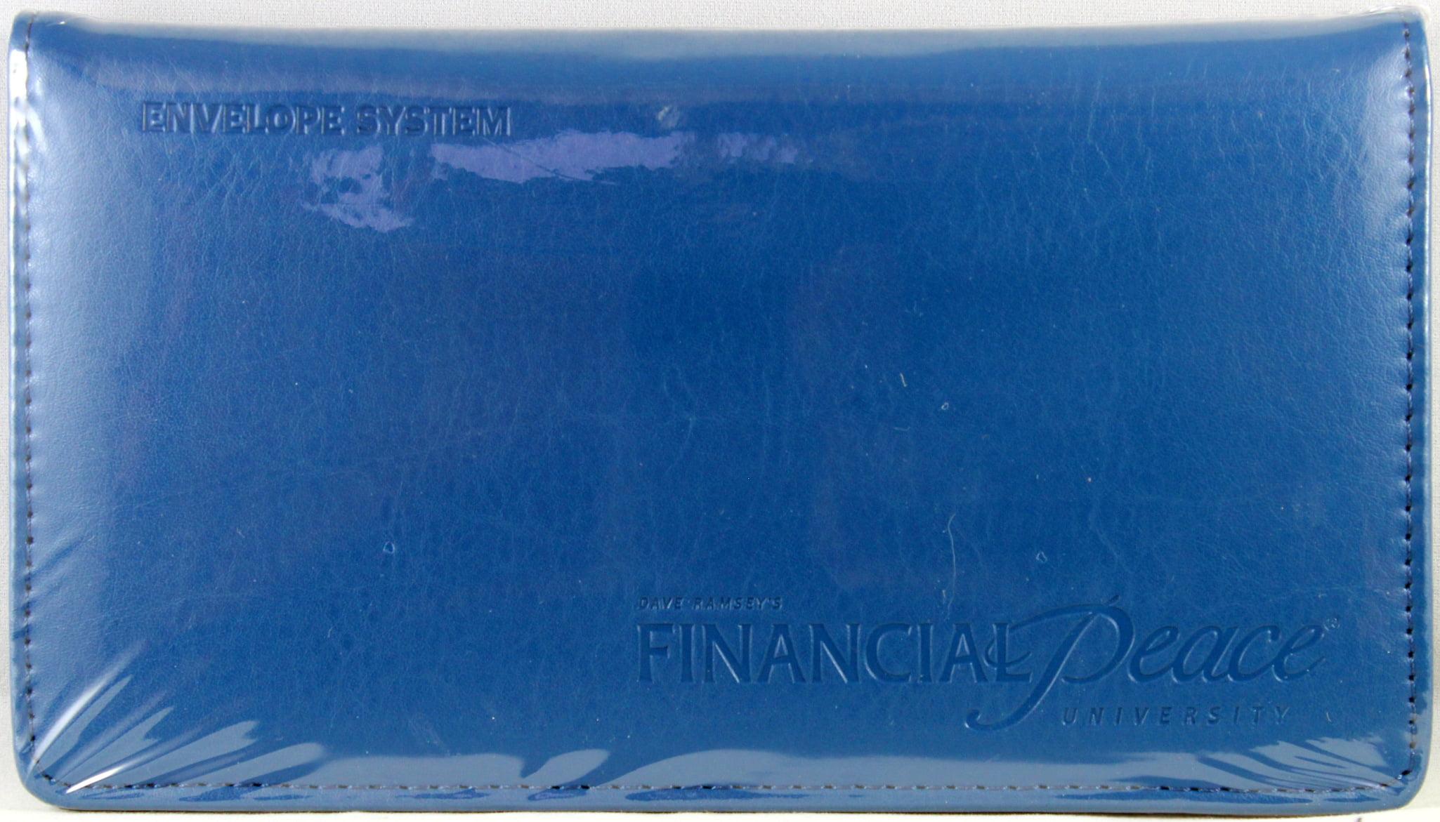 dave ramsey s financial starter envelope system blue walmart com
