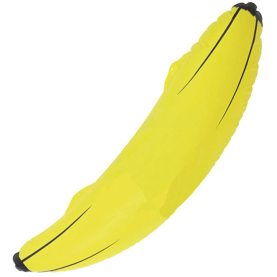 "Inflatable Banana Halloween Accessory, 28.75"""