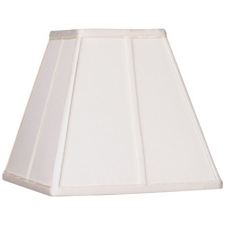 Springcrest Ivory Classic Square Shade 5.25x10x9 (Spider)
