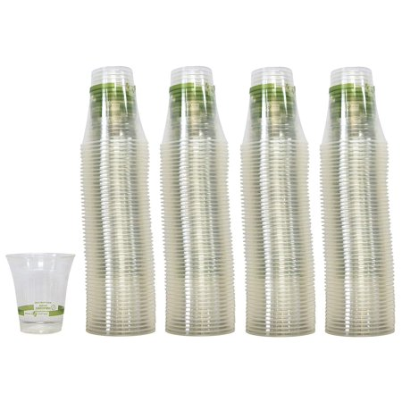 World Centric - Biodegradable Compostable Cold Cups, 12 Ounce (200 Count)