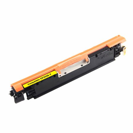 Compatible HP CF352A (130A) Yellow Toner Cartridge By Superink - image 1 de 1