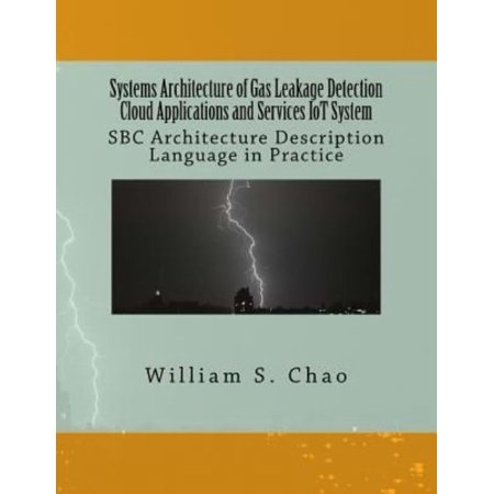 Systems Architecture Of Gas Leakage Detection Cloud Applications And Services Iot System  Sbc Architecture Description Language In Practice