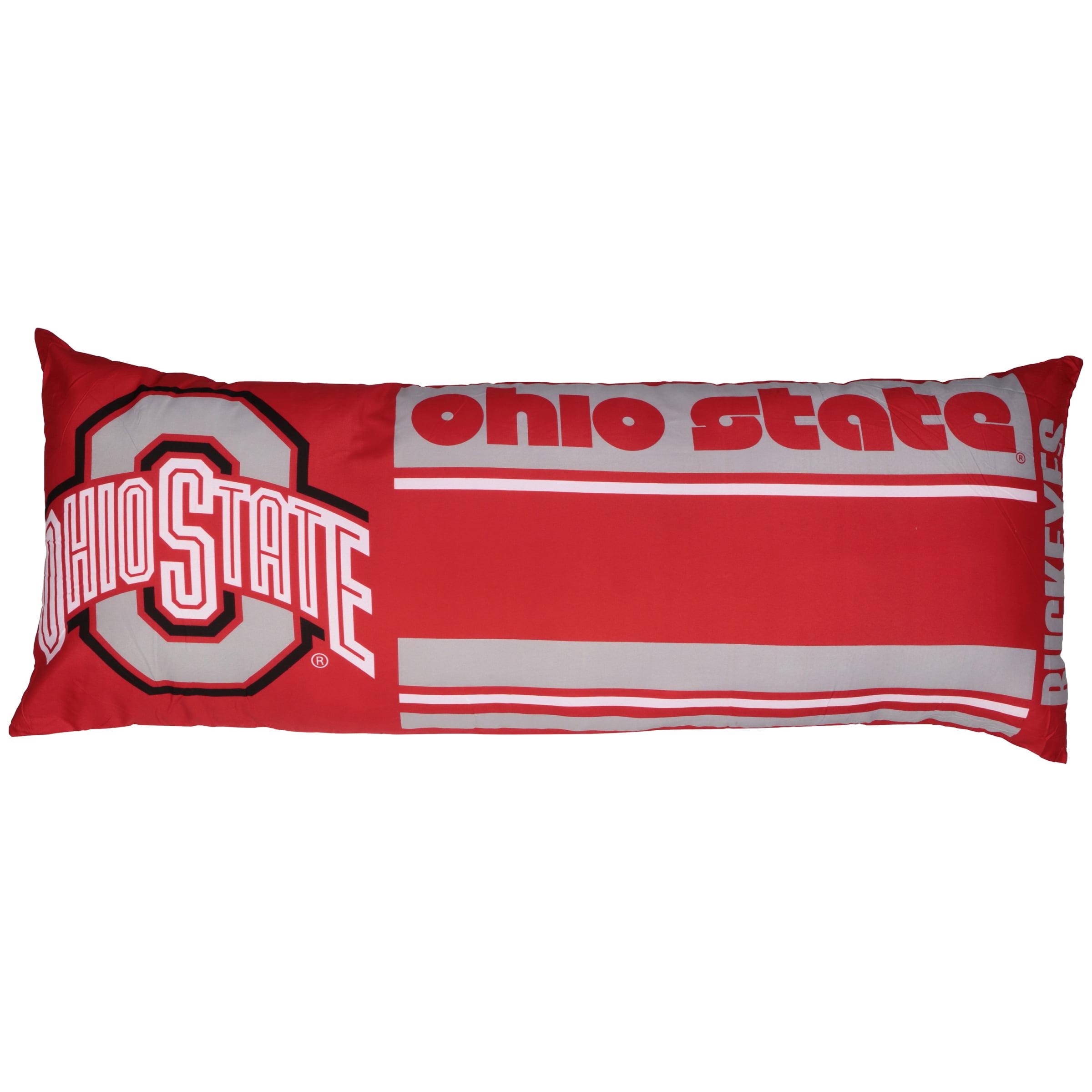 NCAA Northwest™ Ohio State® Buckeyes Body Pillow