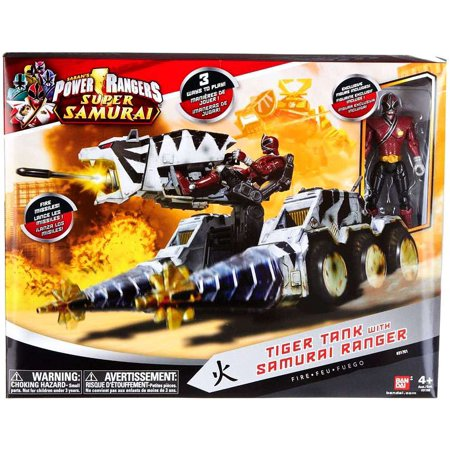Power Rangers Super Samurai Tiger Tank with Samurai Ranger [Fire] - A Power Rangers Samurai Halloween