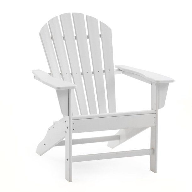 Belham Living Belmore Recycled Plastic Classic Adirondack Chair - White
