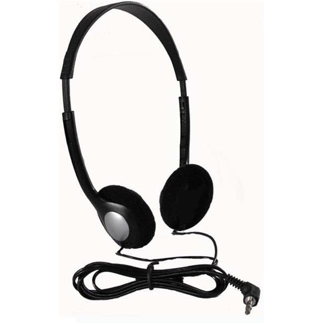 HamiltonBuhl Personal Economical Headphones, 100 Pack