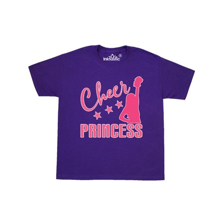 Cheer Princess Cheerleading Gift Youth T-Shirt