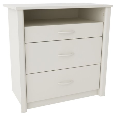 Ameriwood Media Dresser Tv Stand With 3 Drawers