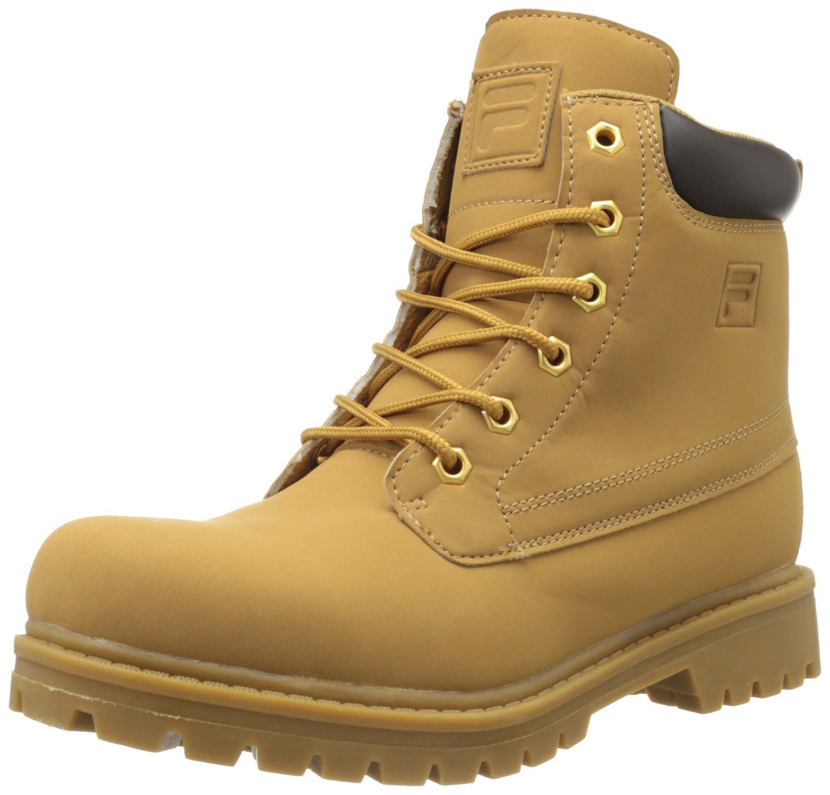 Fila 1SH40063-206 : Men's Edgewater 12 Hiking Boot Wheat/Gum (12 D(M) US)