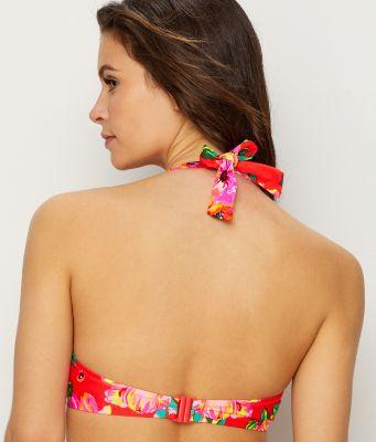 Pour Moi Heatwave Halter Underwired Top Haut de Bikini Femme
