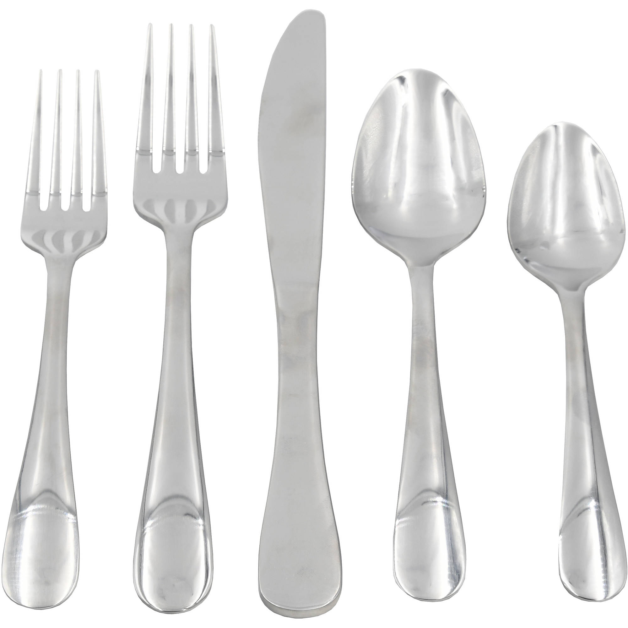 Mainstays 20 Piece Arlington Flatware Set
