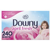 Downy Dryer Sheets, April Fresh Scent, 240 Count