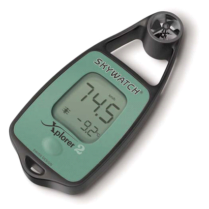Skywatch Xplorer 2 Wind Speed Windmeter Anemometer