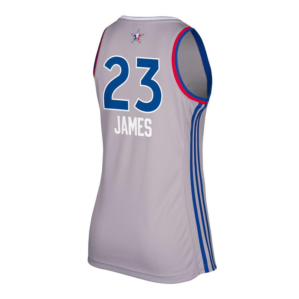 Adidas LeBron James Cleveland Cavaliers NBA Women's 2017 All Star East Replica Jersey