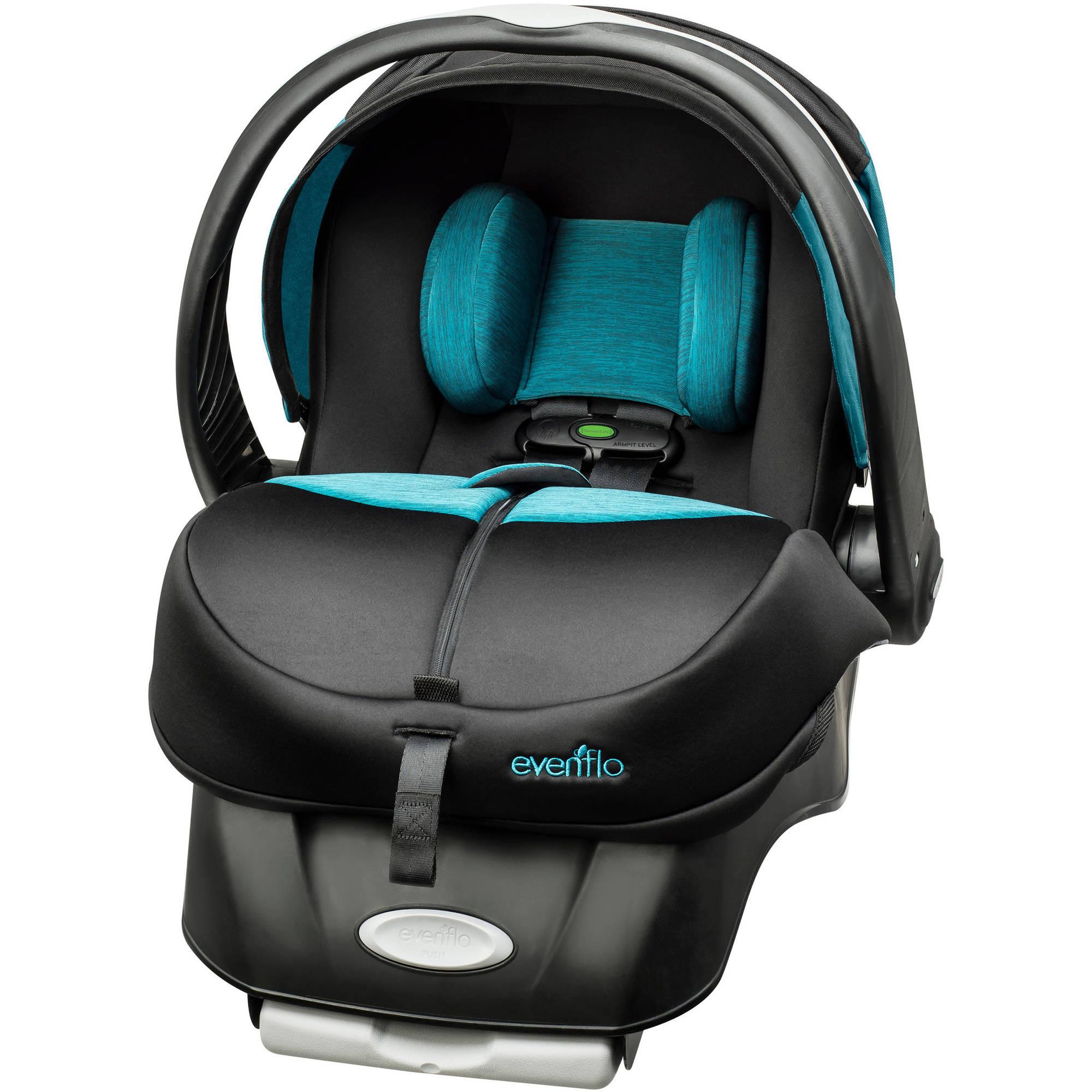 Evenflo Advanced Embrace DLX Infant Car Seat with SensorSafe, Largo