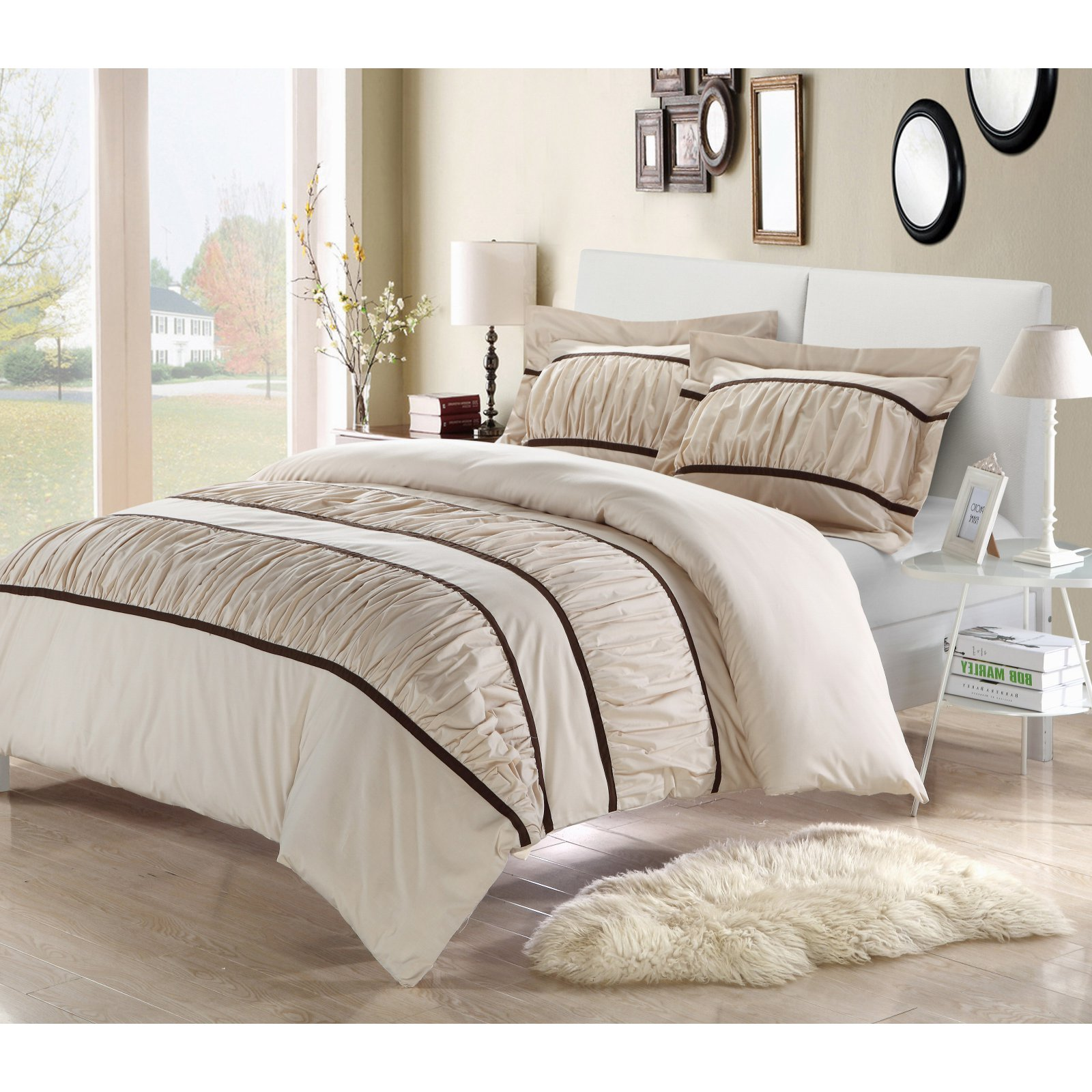 Chic Home Betsy Ruffled Duvet Cover Set