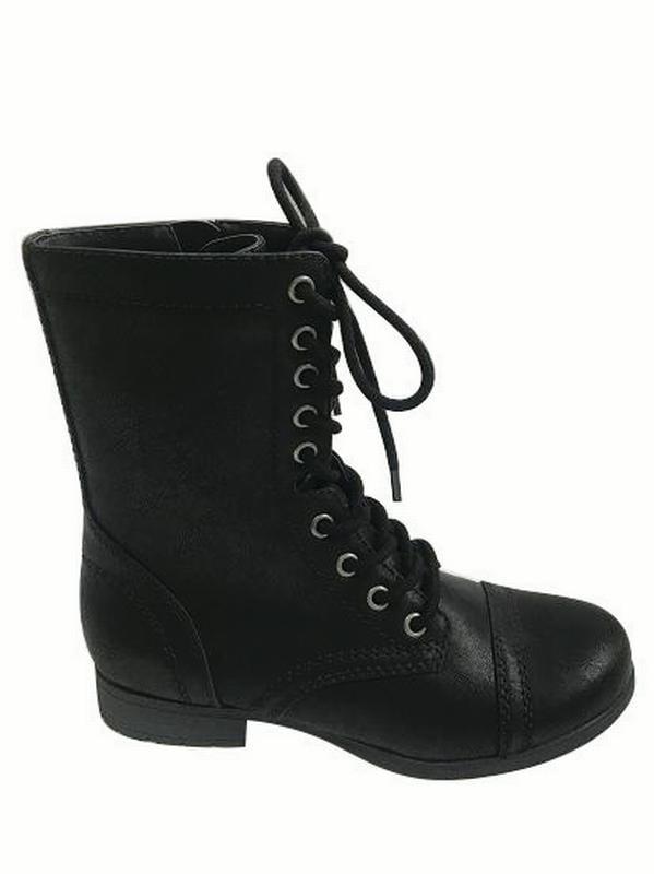 and Tru Women's Combat Boot